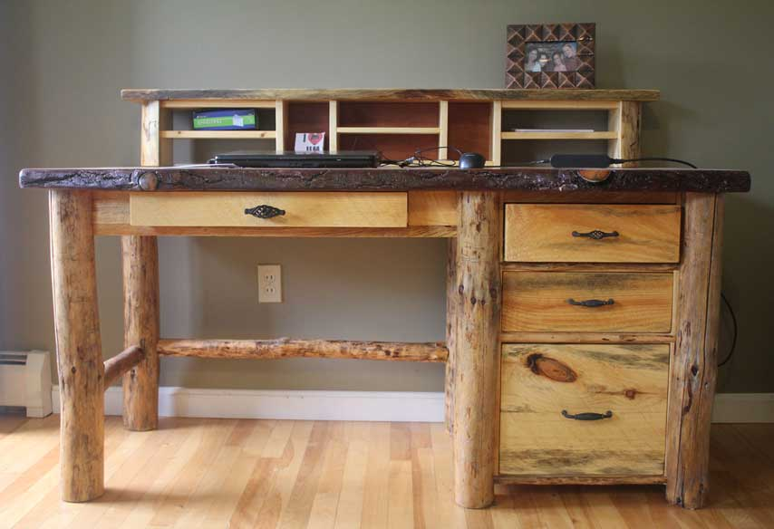 Office Rustic Furniture Maine