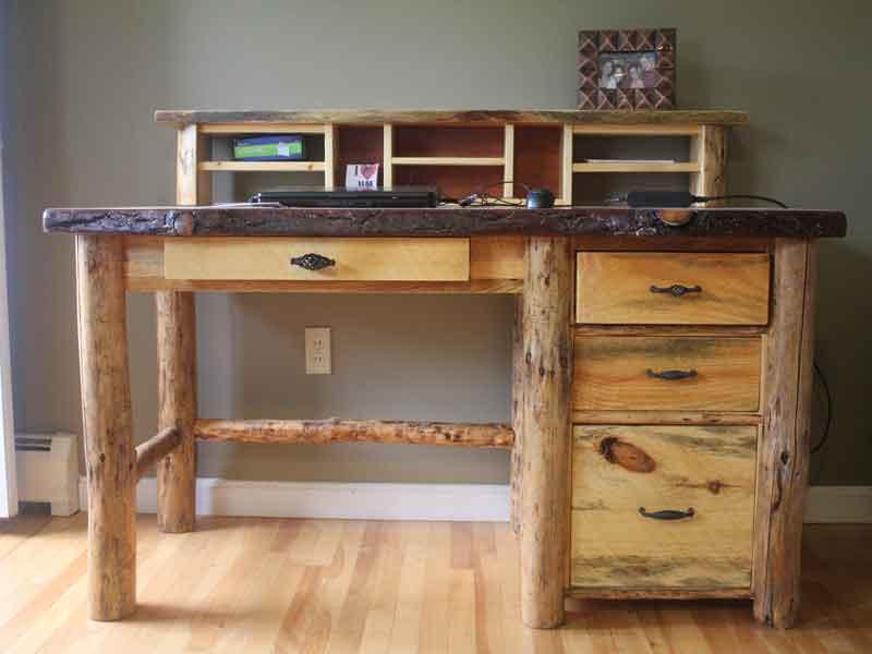 rustic-desk